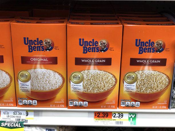 Uncle Ben´s on fiktiivinen hahmo, jonka kasvot ovat olleet riisipakettien kyljissä 1940-luvulta asti.