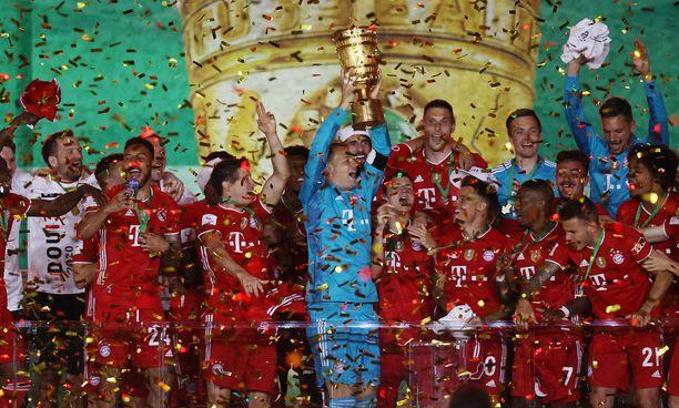 Bayern München yrittää edetä Mestarien liigassakin finaaliin.