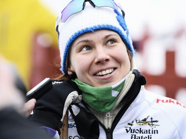 Susanna Saapunki omaa erittäin hyvän hapenottokyvyn.