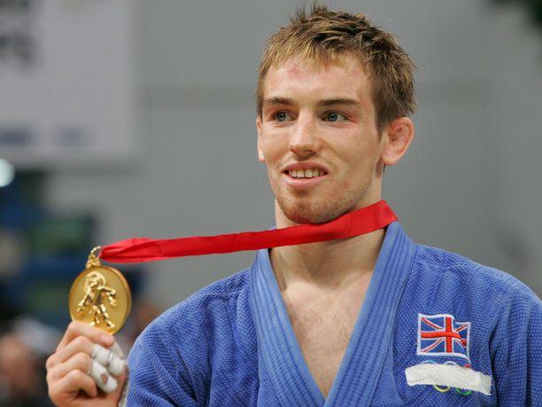 Craig Fallon voitti judon MM-kultaa vuonna 2005.