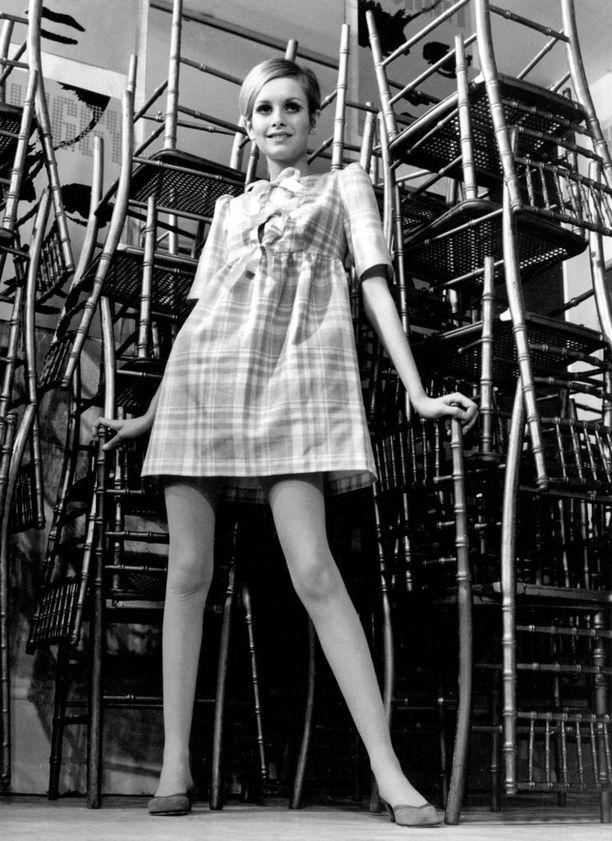 Twiggy oli 1960-luvun teinityylin ikoni.
