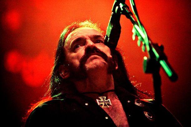 Helsingin-konsertti itsenäisyyspäivänä jäi Lemmy Kilmisterin viimeiseksi esiintymiseksi Suomessa. Kuva vuodelta 2007.