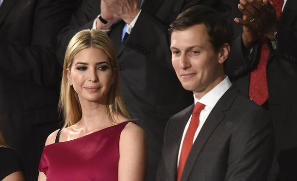 Jared Kushner on Ivanka Trumpin aviomies.