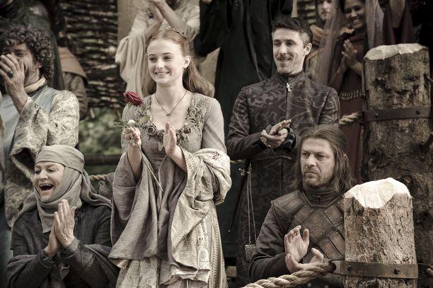 Tältä Sansa Stark näytti ensimmäisellä tuotantokaudella.