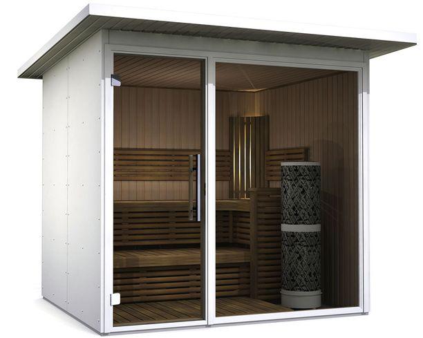 Nothern Lights Saunan ulkosaunat on suunniteltu kaupunkikotiin, takapihalle, terassille tai patiolle.