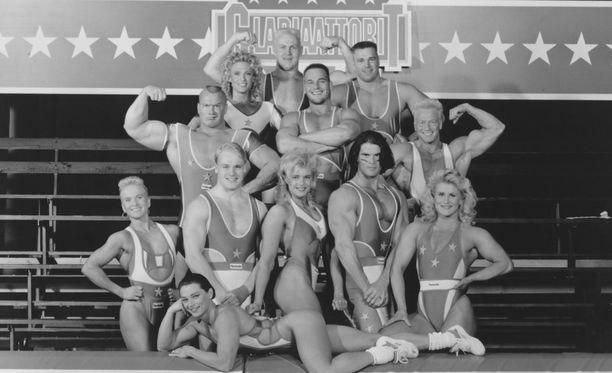 Gladiaattorit keräsi suosiota MTV3-kanavalla 1990-luvulla.