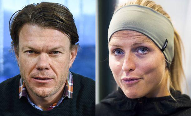 Mathias Fredriksson ei täysin usko Therese Johaugin ja Norjan hiihtoliiton puheita viime vuoden dopingtapauksesta. Johaugin 18 kuukauden mittainen kilpailukielto päättyy 18.4.2018.