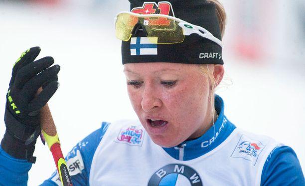 Riitta-Liisa Roponen oli ylivoimainen sunnuntain kympillä.