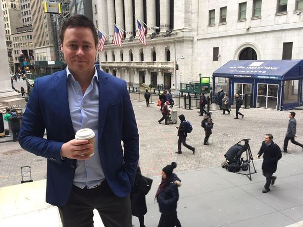 Iltalehden Erkki Meriluoto raportoi Wall Streetiltä New Yorkista.