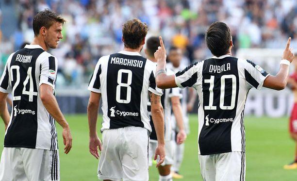 Hallitsevaa mestaria Juventusta ei yllätetty kauden avauksessa.