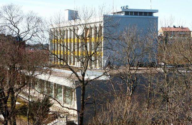 Ruotsin turvallisuuspoliisi Säpo arvioi, että kolmannes Ruotsissa asuvista venäläisdiplomaateista on vakoojia. Kuvassa Venäjän suurlähetystö Tukholmassa.