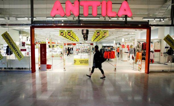 Anttila-tavaratalot menivät konkurssiin viime viikon tiistaina.