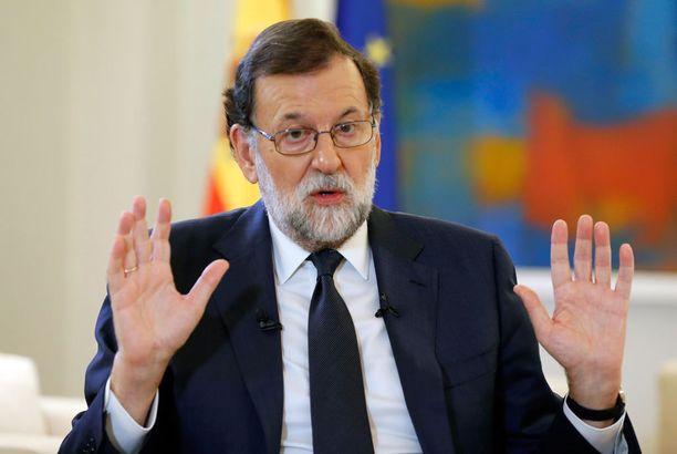 Mariano Rajoy on jyrkästi vastustanut Katalonian itsenäisyyttä.