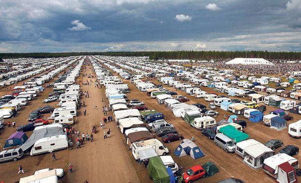 Lestadiolaisten suviseurat keräävät liki 100 000 osanottajaa.