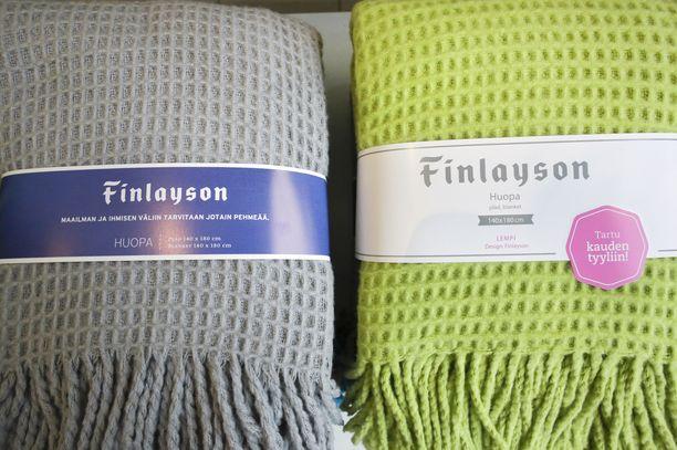 Finlayson on 200-vuotias kodintekstiilibrändi ja yksi Suomen vanhimpia yrityksiä. Kuvituskuvaa Finlaysonin tuotteista vuodelta 2017.