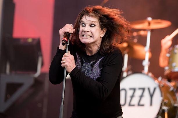 Ozzy Osbourne peruu keikkansa.