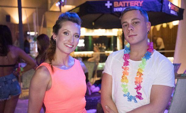 Minna ja Sammy osallistuivat Temptation Island Suomi -ohjelmaan pariskuntana.