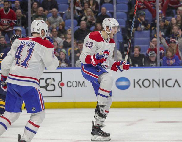 Joel Armian kädet eivät tärisseet NHL-uran ensimmäisessä rankkarissa.