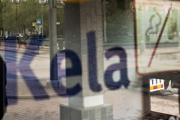 Välikohtaus sattui Kelan toimiston ovella. Kuvituskuva.