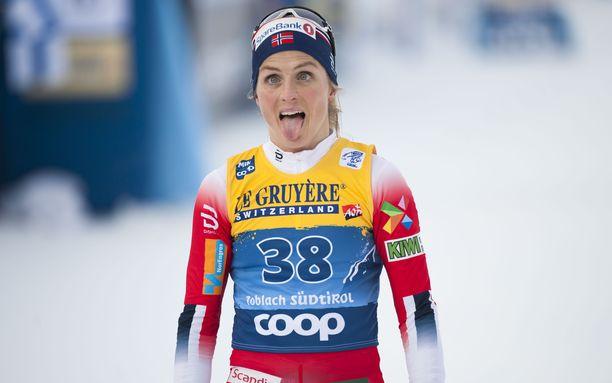 Therese Johaug vapautui dopingjäähyltään huhtikuussa 2018.