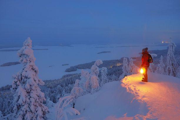 Kansallispuistobuumi on houkuttanut entistä enemmän ihmisiä myös Kolin maisemiin. Talvilomalaisia odotetaan alueelle myös runsaasti.