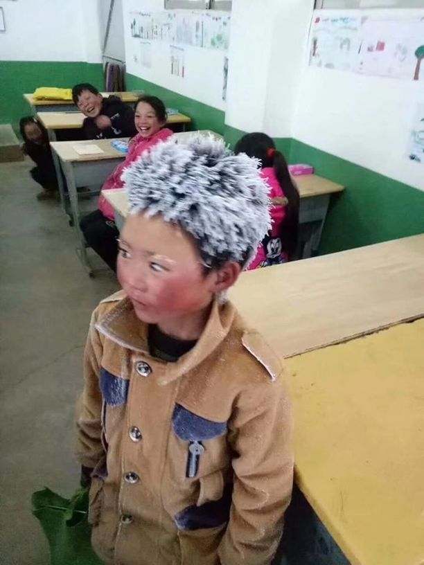 Wang on 8-vuotias, äitinsä hylkäämä poika.
