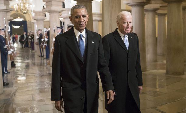 Obaman ja Bidenin lämpimät välit ihastuttavat edelleen.