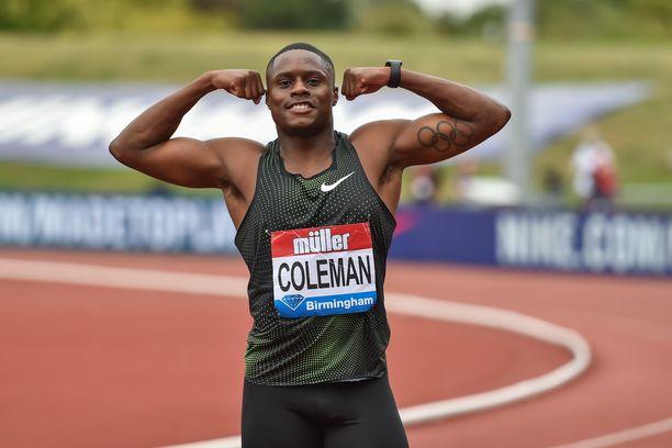 Pikajuoksija Christian Coleman on vapaa mies kilpailemaan Dohan MM-kisoissa.