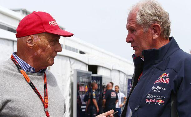 Niki Lauda ja Helmut Marko ajoivat F1-sarjaa samaan aikaan kausina 71-72.