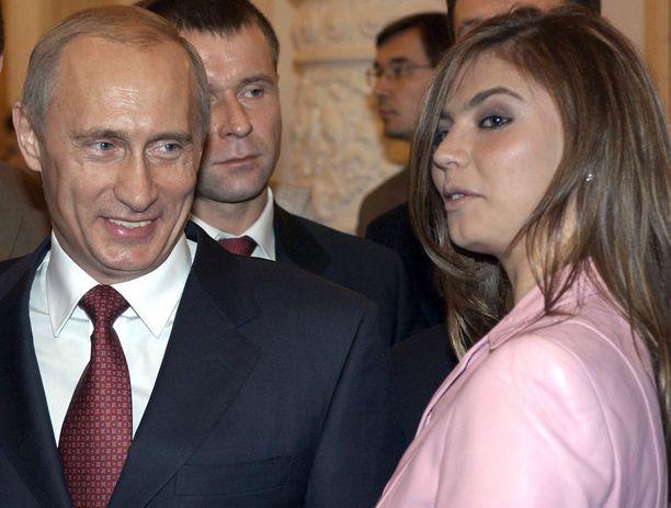 Putinin ja Alina Kabajevan suhteesta on huhuttu vuosien ajan.