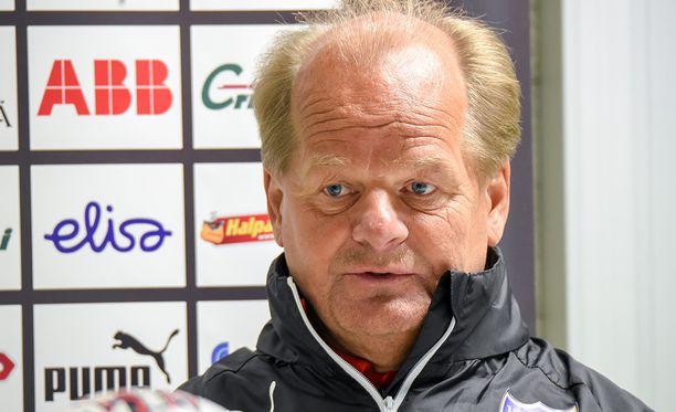 Antti Muurinen ei ole tyytyväinen Helsingin IFK:n vireeseen.