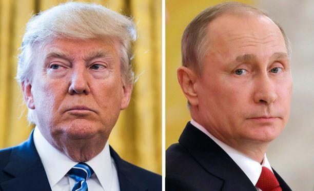 Yli puolet suomalaisista ilmoittaa olevansa huolestuneita sekä Yhdysvaltain presidentin Donald Trumpin että Venäjän presidentin Vladimir Putinin ulkopoliittisista toimista.