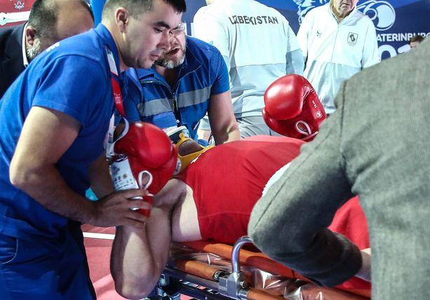 Richard Torrez oli huonossa kunnossa jouduttuaan tyrmätyksi MM-kehässä.