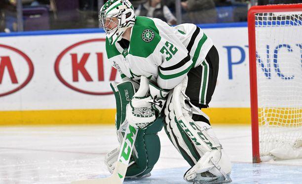 Dallas Starsin Kari Lehtonen torjui 300:nnen voittonsa ja pelasi 624:nnen NHL-ottelunsa.