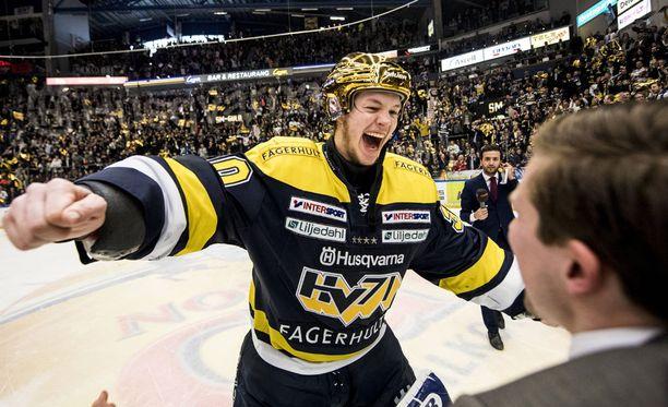 Linus Söderström oli SHL-kevään suurimpia sensaatioita.