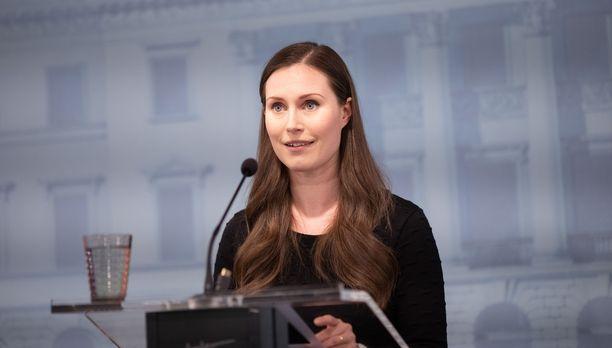 Pääministeri Sanna Marin kertoi Suomen koronastrategiasta.