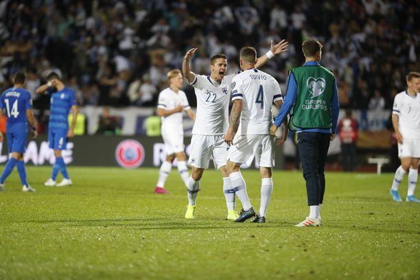 Se on siinä! Suomi otti äärimmäisen tärkeät kolme pistettä Kreikalta.