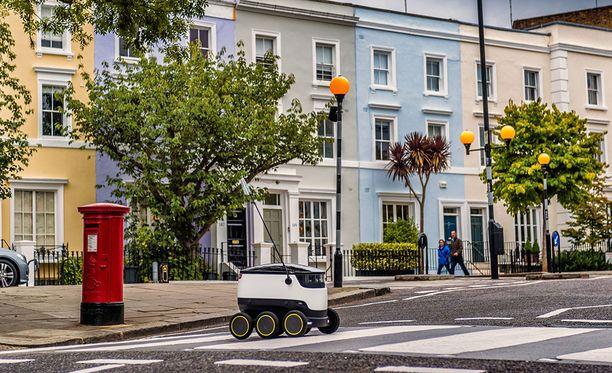 Lontoon Greenwichissä robotti on ollut koekäytössä jo jonkin aikaa.