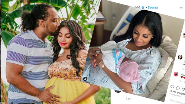 90 päivää morsiamena -sarjasta tuttu pariskunta on saanut lapsen.