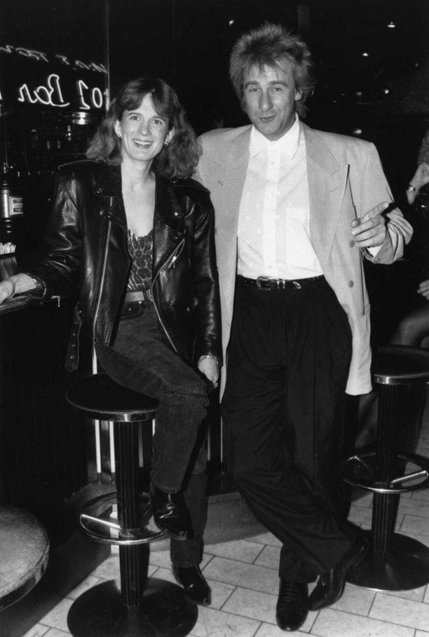Riki Sorsa ja Barbara-vaimo 1990-luvun alussa.