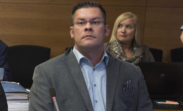 Ilja Janitskin kuvattuna oikeudessa vajaat kaksi viikkoa sitten.