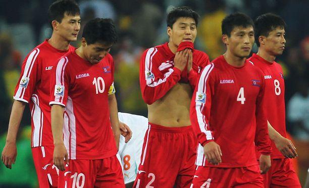 Pohjois-Korea hävisi kaikki kolme MM-otteluaan Etelä-Afrikan kisoissa. Pahiten joukkuetta höykytti Portugali 7-0-voitollaan.