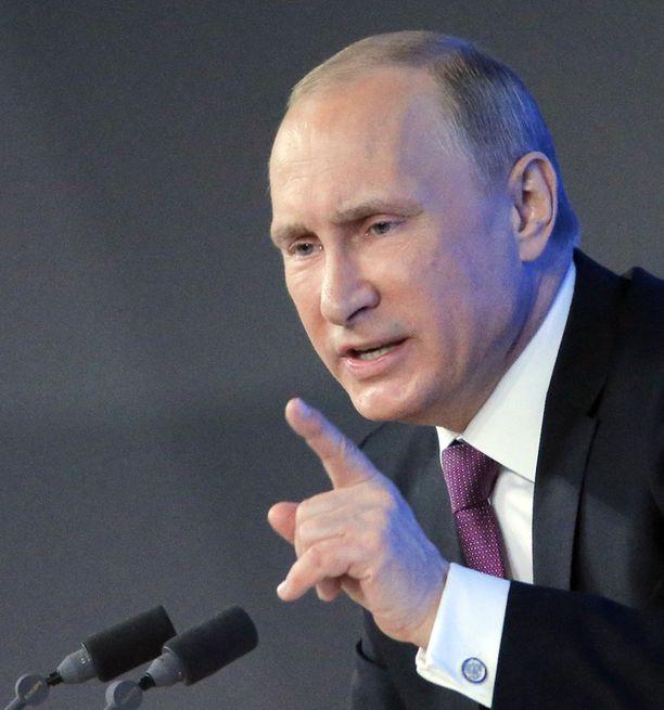 Putinin koneisto on kierrättänyt presidentin viestiä tiuhaan.