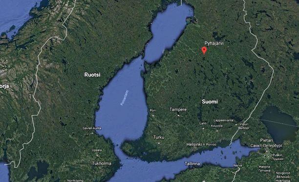 Moottorisahamies yritti päästä baariin Pohjois-Pohjanmaan Pyhäjärvellä.