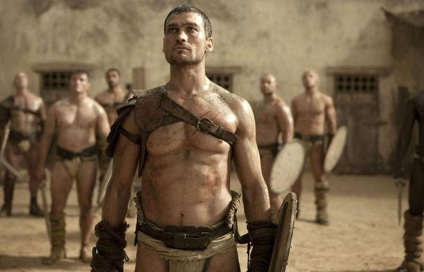 Whitfield oli Spartacus-sarjan päätähti.