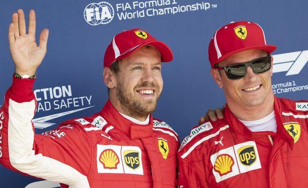 Sebastian Vettel ja Kimi Räikkönen panostavat ultrasoft-renkaisiin ensi viikolla Unkarissa.