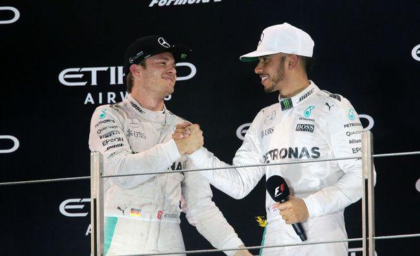 Nico Rosbergin ja Lewis Hamiltonin yhteinen Mercedes-matka oli myrskyisä, mutta menestyksekäs.