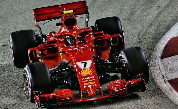 Kimi Räikkönen jäi viidenneksi.