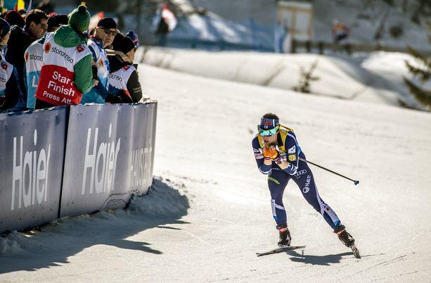Krista Pärmäkoski jäi neljänneksi erittäin niukalla erolla pronssisijaan.