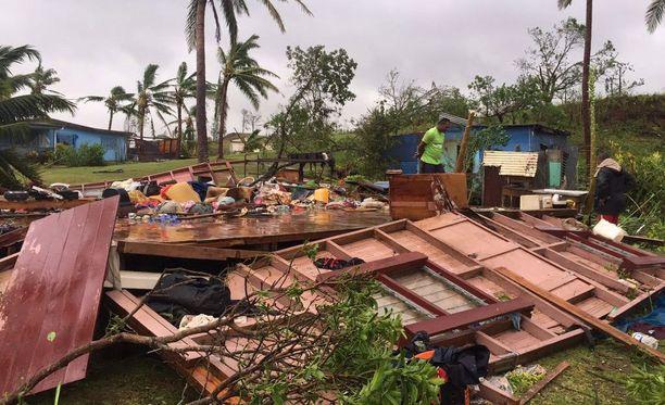 Tuhojen laajuutta ei ole vieläkään saatu selvitettyä kaukaisimmilla asuinalueilla.